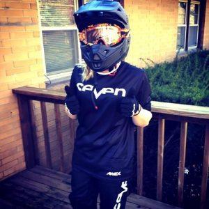 ATV fox Helmet