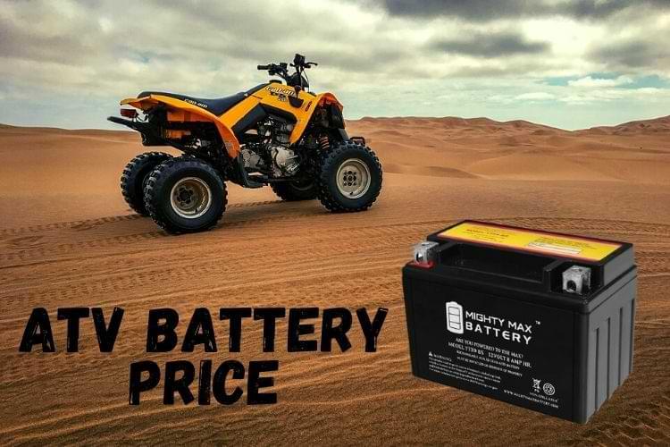 Average ATV Battery Cost