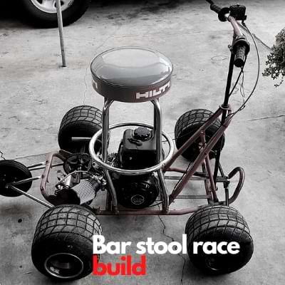 Bar stool racer build