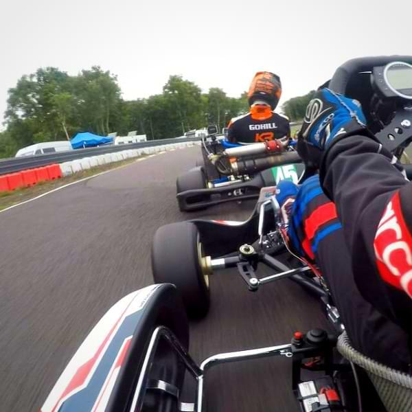 Go kart speed test