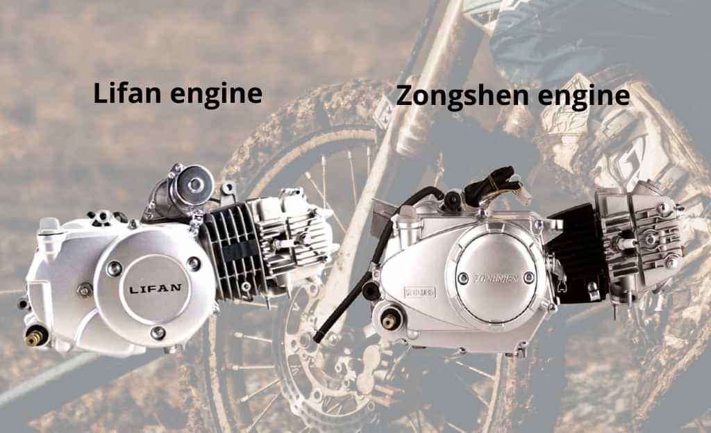 Lifan vs Zongshen motor bike engine