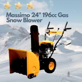 Massimo 24 Gas Snow Blower