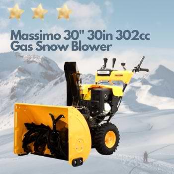 Massimo 30 Gas Snow Blower