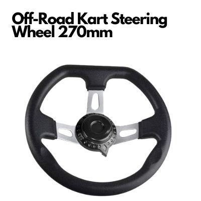 Off-Road Kart Steering Wheel 270mm