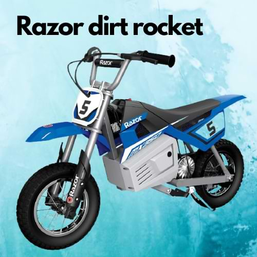 Razor pocket dirt bike