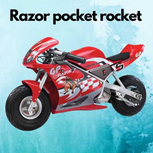 Razor pocket rocket bike