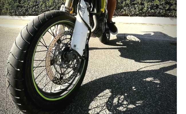 Suzuki drz400 rim and wheels