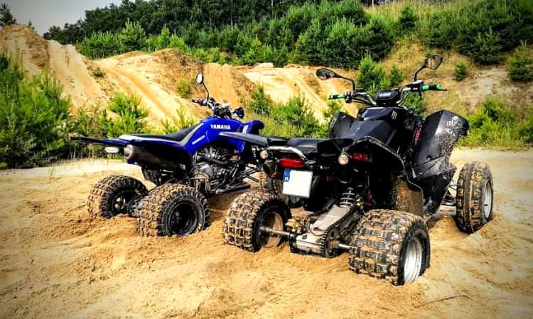 Yamaha YFZ450 exhaust