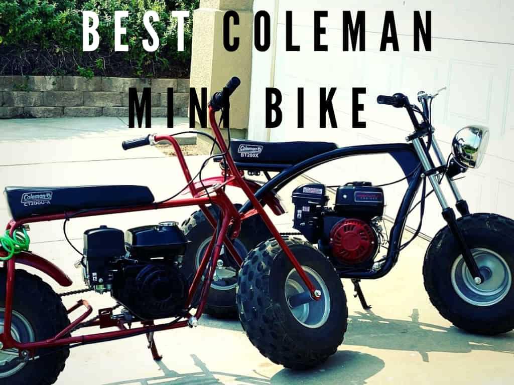 best Coleman mini bike