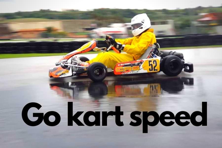go kart speed