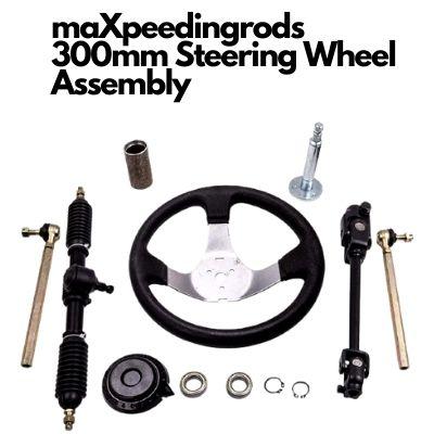 maXpeedingrods Steering Wheel Assembly