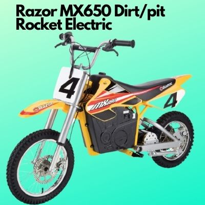 Razor MX650 Dirt Rocket Electric pit Bike