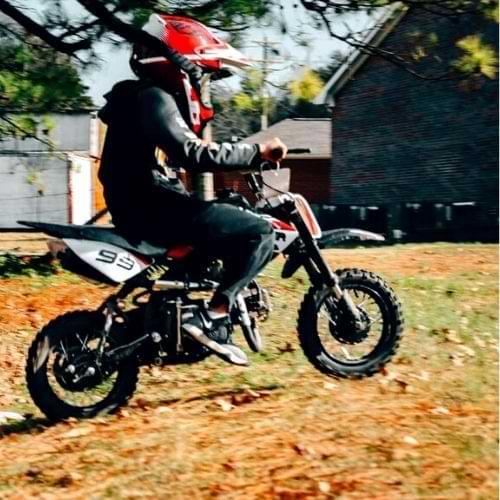 coolstar 70cc dirt bike ride